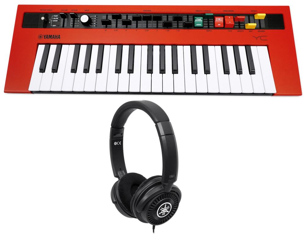 yamaha REFACE YC 37-Key Mini Combo Organ Keyboard w/Effects+