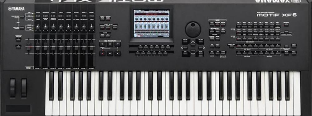 Yamaha MOTIF XF6 61-Key Music Production Flash Synthesizer