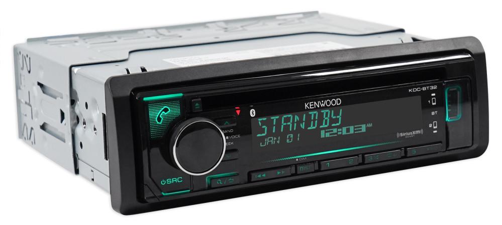 90-97 Mazda Miata MX-5 Kenwood CD Receiver w/Bluetooth iPhone