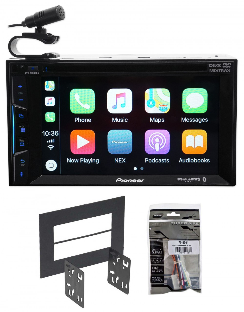 2005-2008 Subaru Forester Pioneer Bluetooth DVD Receiver iPhone