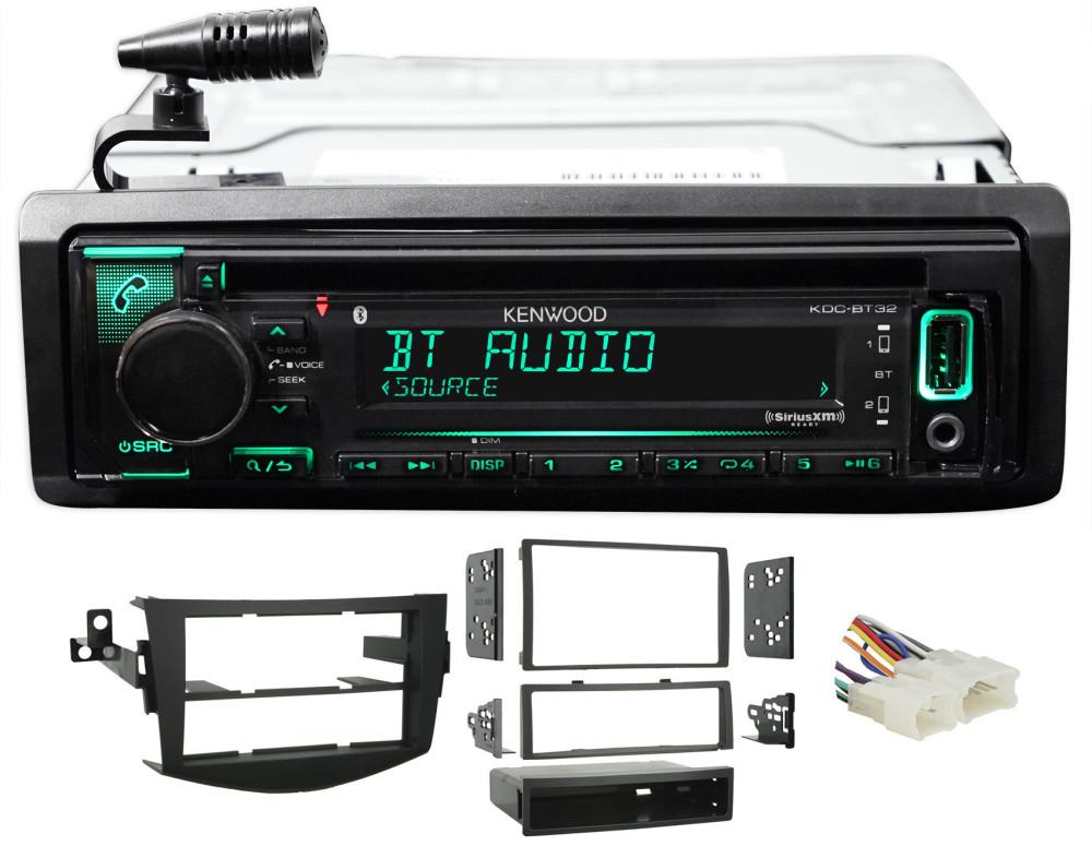 06-12 Toyota Rav4 Kenwood 1-Din CD Receiver wBluetooth iPhone