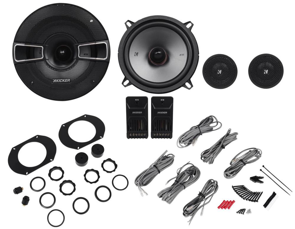 Black Pair Kicker 41KSC674 6-3//4 2-Way Coaxial Speaker