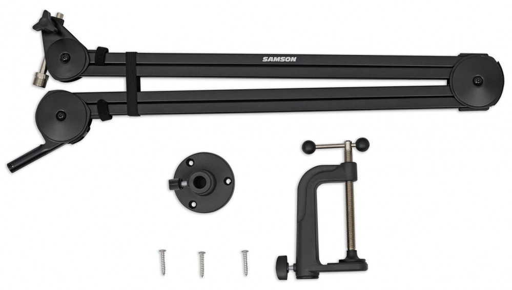 Samson Mba38 38 Quot Microphone Boom Arm Podcast Usb Mic Stand