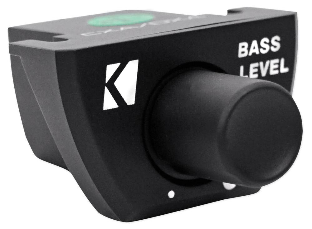 Kicker 43CXA3001 300 Watt RMS Class D Car Amplifier Kicker 43CXARC Remote Control For CX or PX SERIES Car Amplifiers Package