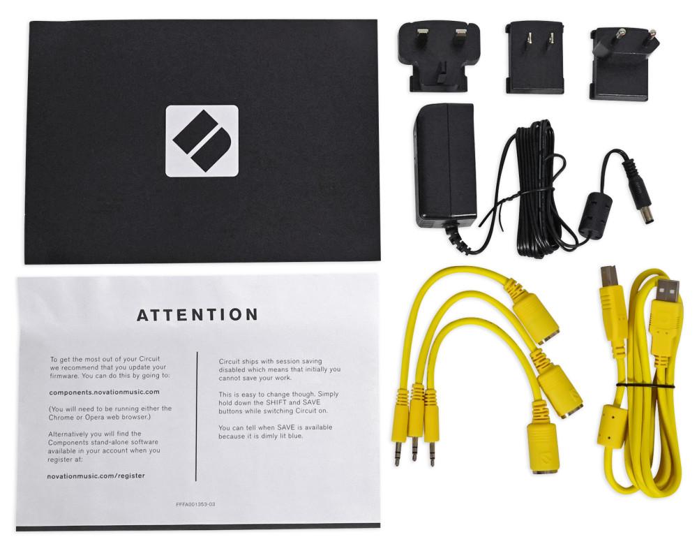 Novation Circuit Mono Station MIDI USB Synthesiser