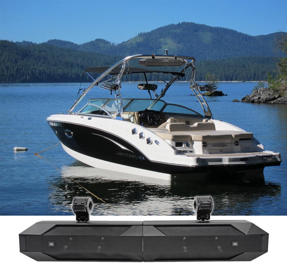 JBL Stadium UB4100 Bluetooth Marine Boat Wakeboard Tower Sound Bar on