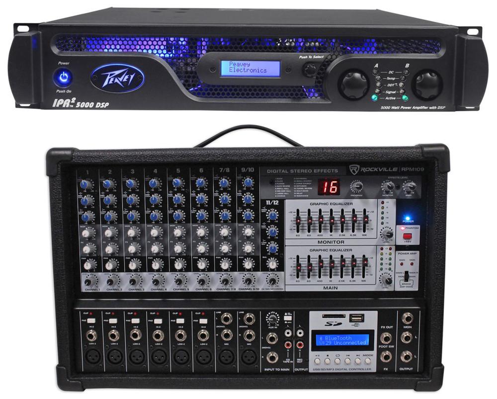 peavey ipr2 5000 dsp 5 050 watt power amp w eq crossover delay settings mixer audio savings. Black Bedroom Furniture Sets. Home Design Ideas