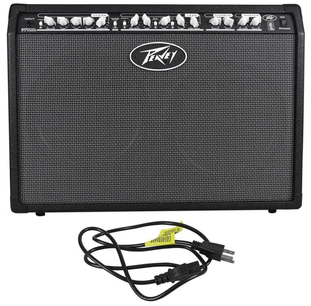 peavey special chorus 212 2 channel 100w 2x12 guitar combo amp pedalboard case audio savings. Black Bedroom Furniture Sets. Home Design Ideas