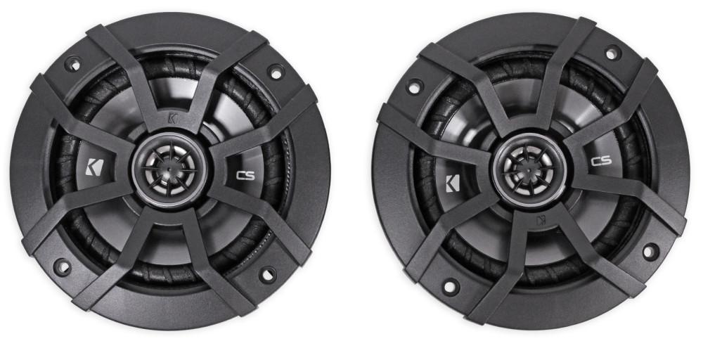2 Pair | 43CSC54 2 Kicker CSC5 5.25 900W 2 Way 4 Ohm Coaxial Car Audio Speakers 43CSC54