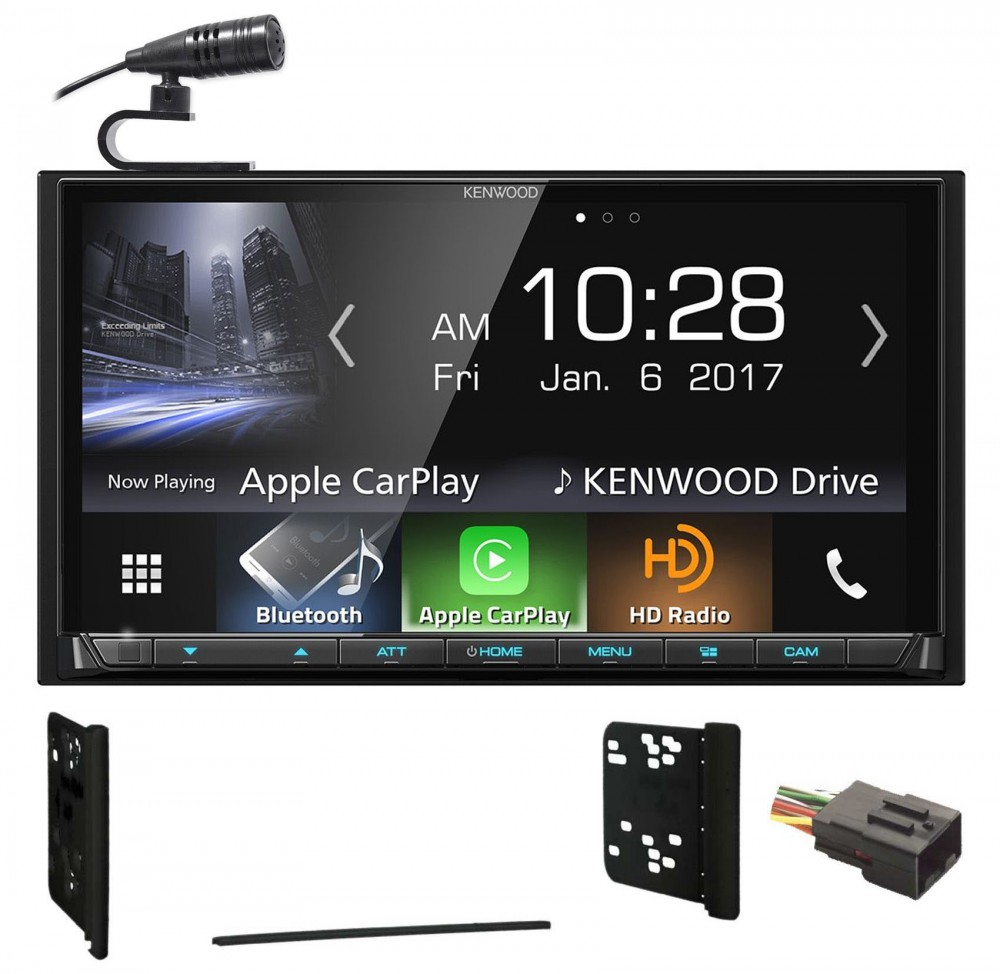 Kenwood Bluetooth Receiver Android/Carplay/USB For 2001-2005 ... on