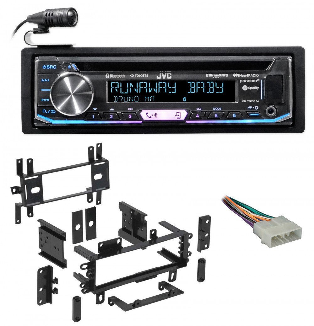 Fits Ford Crown Victoria 1992-1994 Single DIN Car Harness Radio Dash Kit