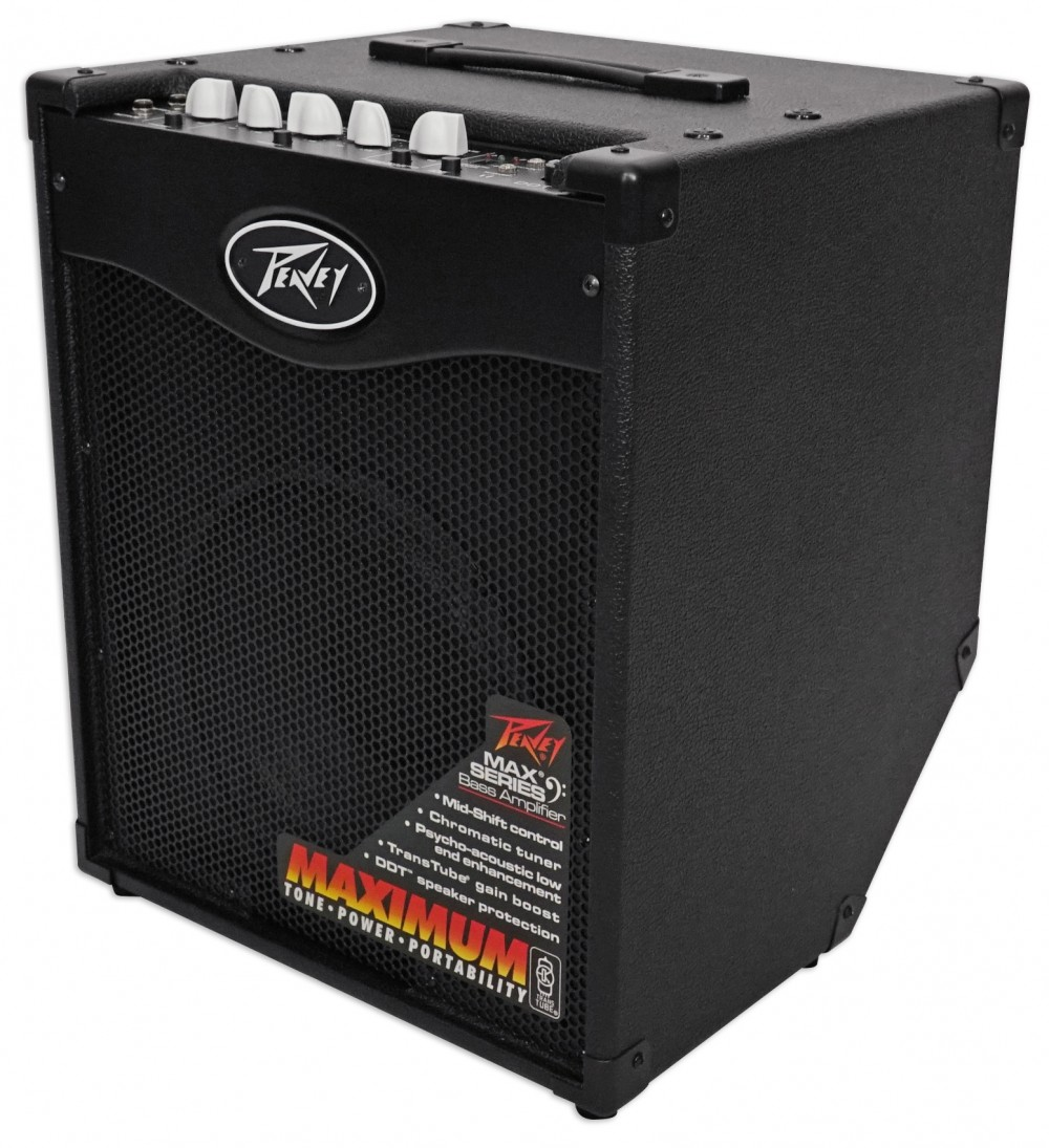 peavey max 110 100 watt electric bass guitar amplifier combo amp w 10 speaker audio savings. Black Bedroom Furniture Sets. Home Design Ideas