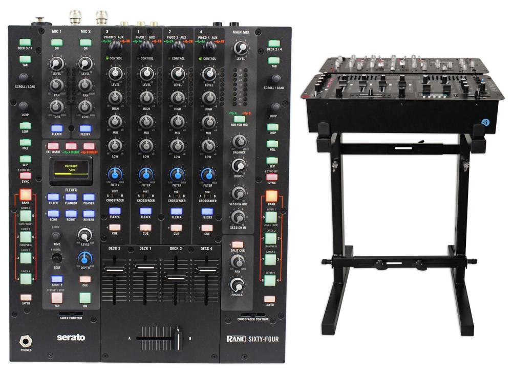 Rane Sixty-Four Serato Scratch Live DJ Mixer w/Dual USB + 6