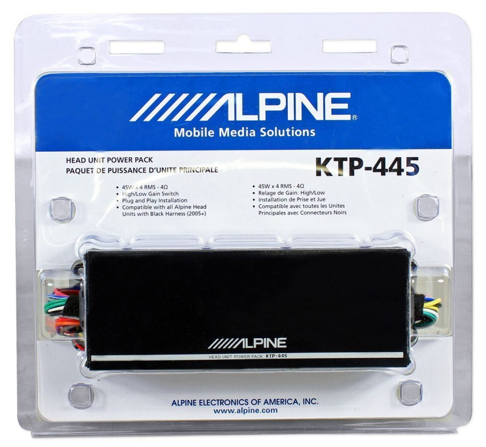alpine ktp 445u speaker wiring diagram  alpine ktp-445 wiring     on