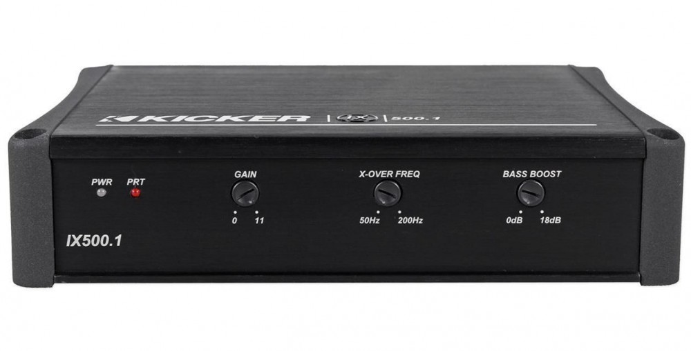 Kicker 11IX500 1 500w Mono Car Audio Class D Amplifier IX500 1+Amp