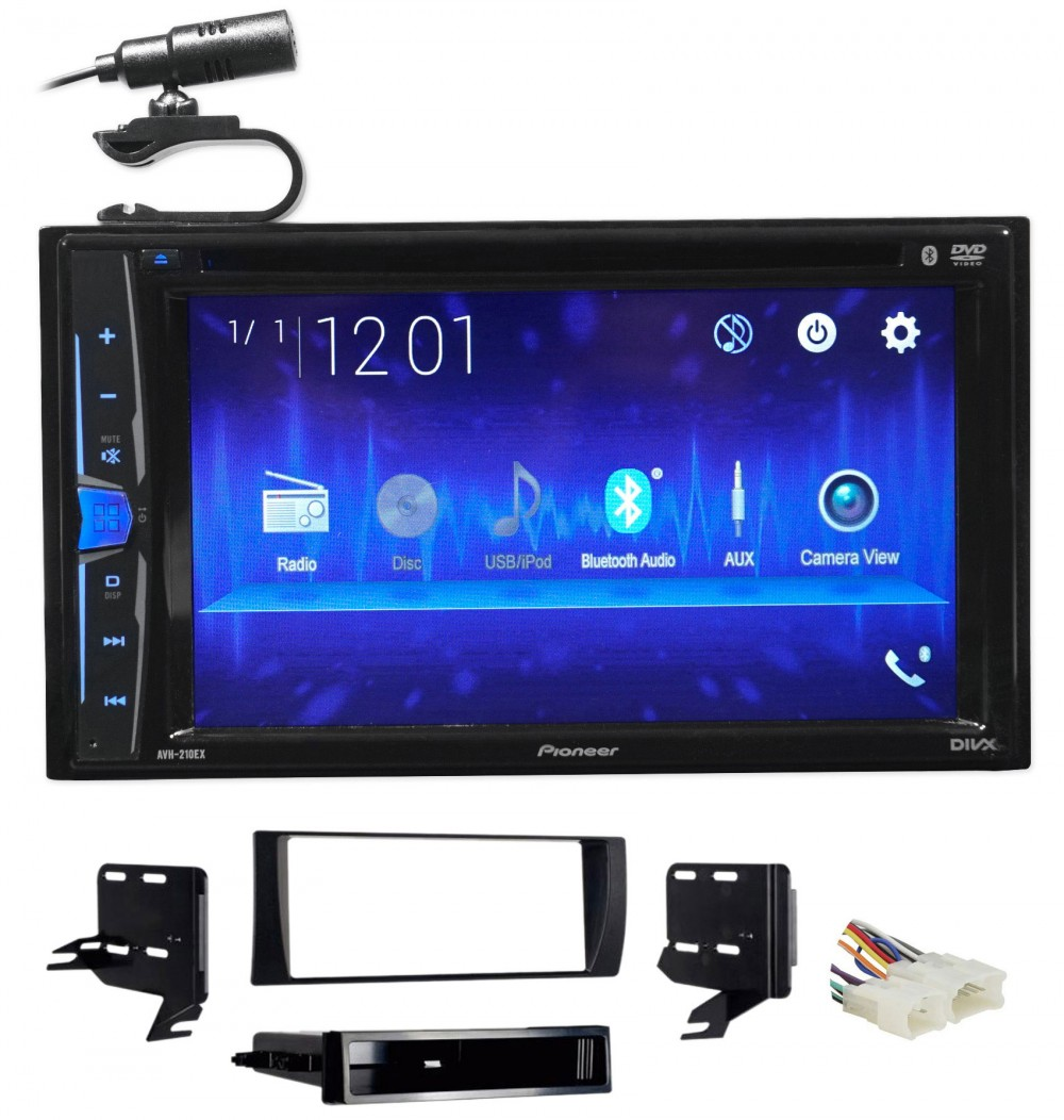 Single//Double DIN Installation Dash Kit for 2002-2006 Toyota Camry Vehicles