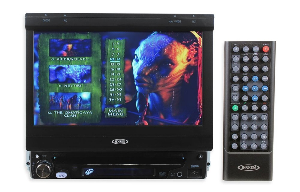 "Jensen VM9215BT 7"" Touch Screen DVD Receiver w/ Built-In ... on jensen wiring harness, jensen vm9311ts wiring schematics, jensen vm9223 dvd player,"