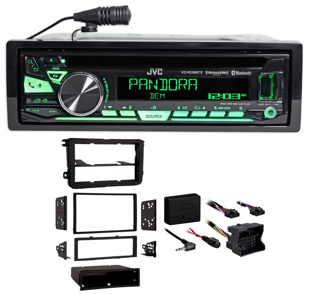 2016 volkswagen passat vw jvc car stereo cd player
