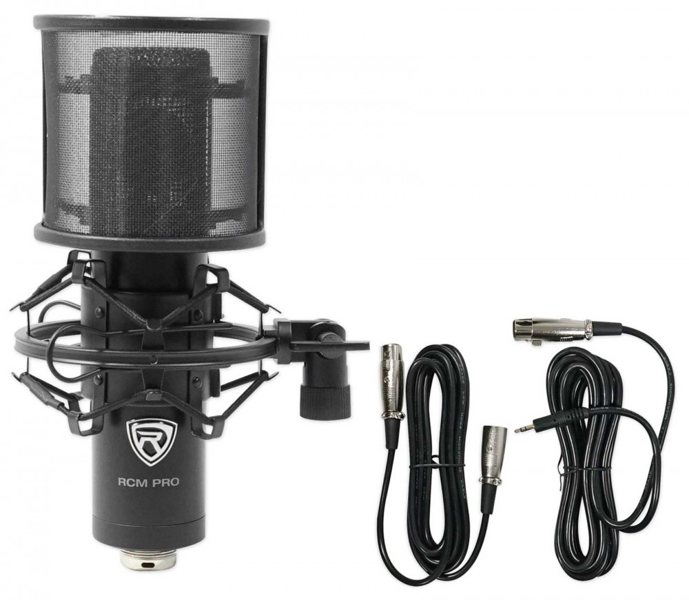Focusrite 8 Person Podcast Podcasting Kit W Interface Mics