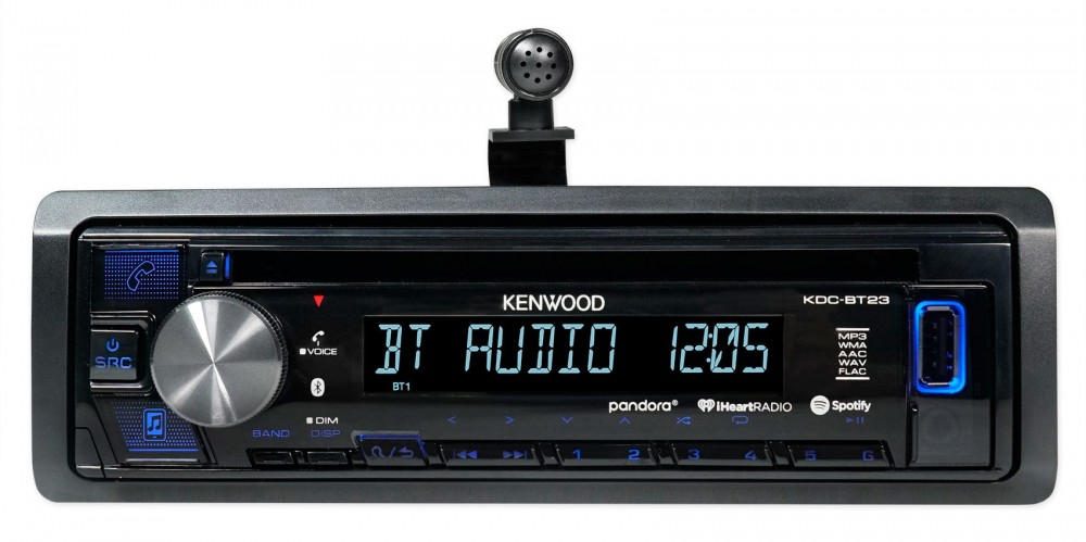 Kenwood CD Receiver w/Bluetooth iPod/iPhone/Pandora For 07 ... on
