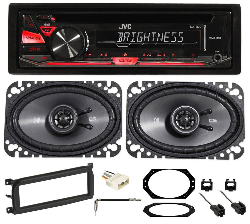03-06 JEEP WRANGLER JVC Stereo/Radio/CD Player+Kicker Speakers+Full