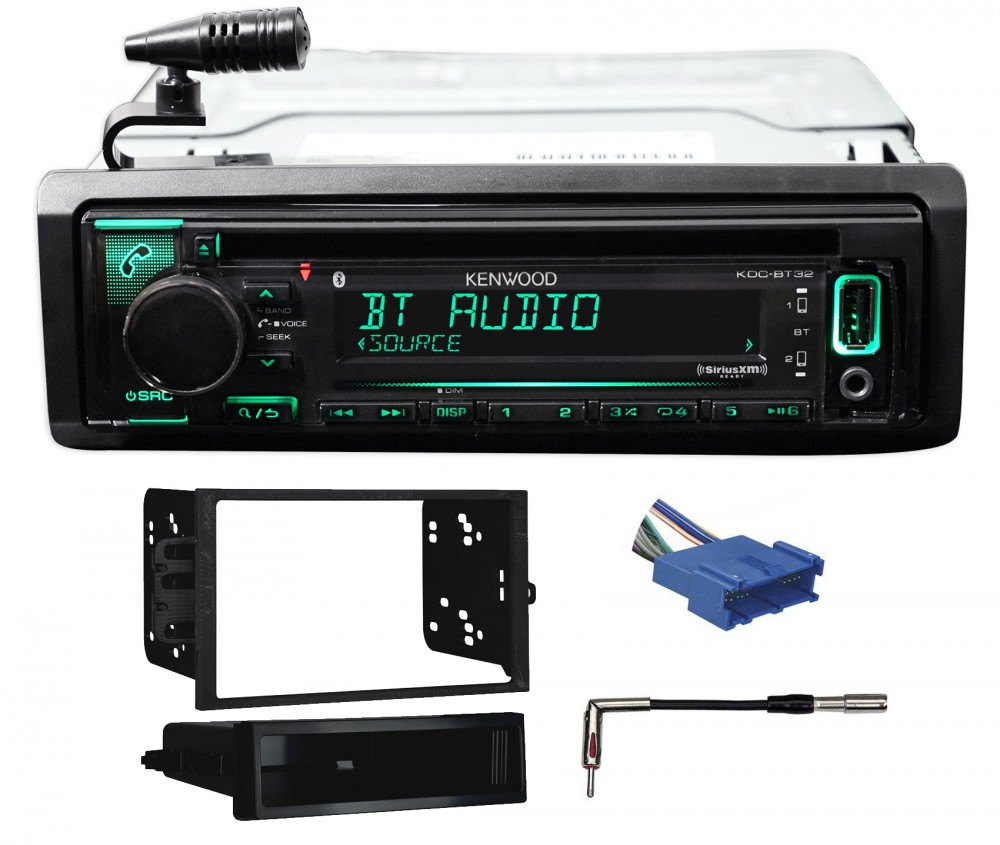 Kenwood CD Receiver w/iPhone/Android/Remote App for 96-99