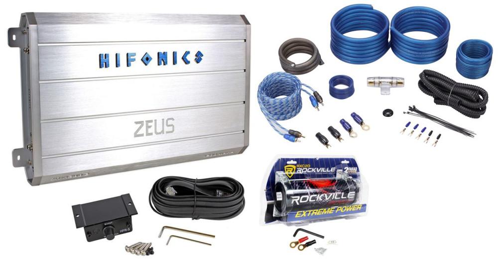 Hifonics zeus zrx12002 1200 watt car audio amplifieramp kit2 hifonics zeus zrx12002 1200 watt car audio amplifieramp kit2 farad greentooth Images
