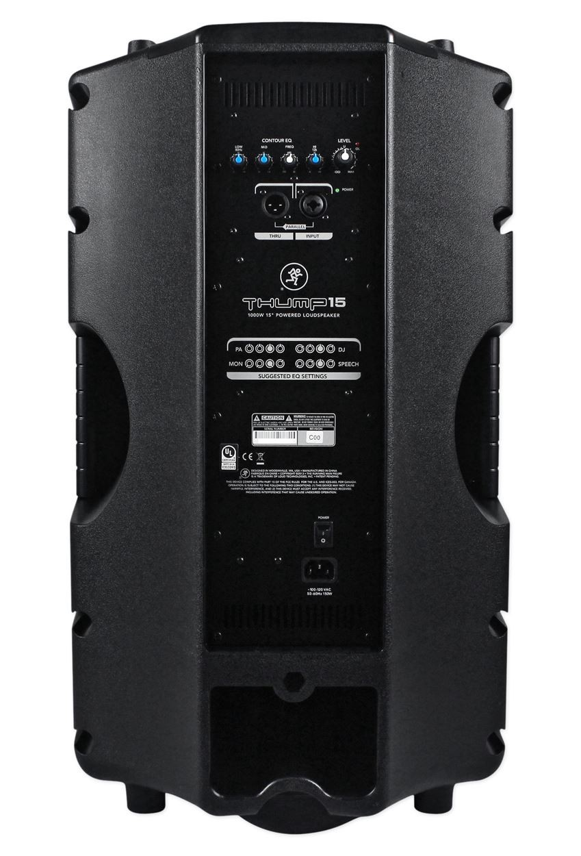 Mackie Thump 15 15 Quot Powered Active 1000w Pa Dj Speaker