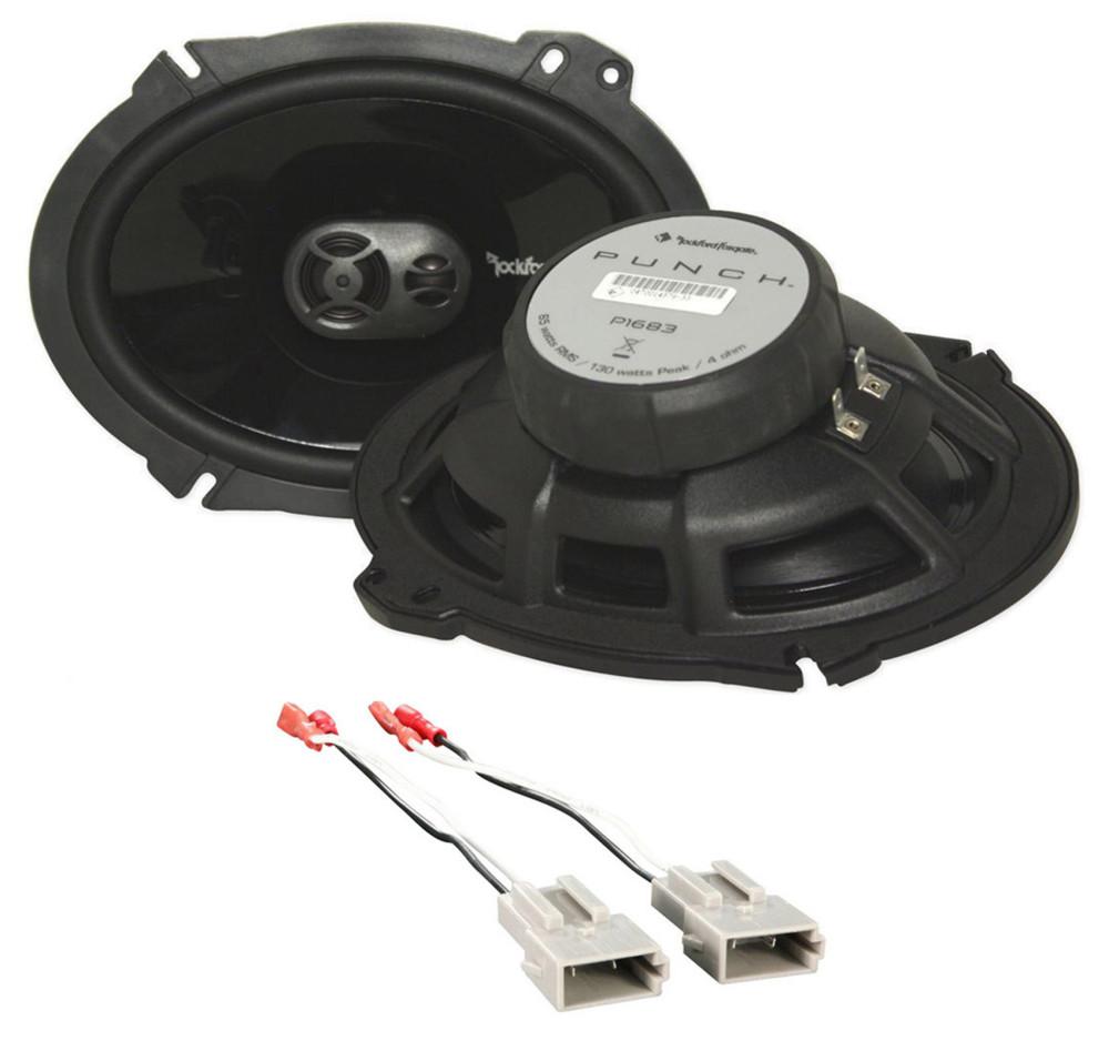 stereo wire harness for 1997 explorer 1995 1997 ford explorer rockford 6x8  front factory speaker  1995 1997 ford explorer rockford 6x8