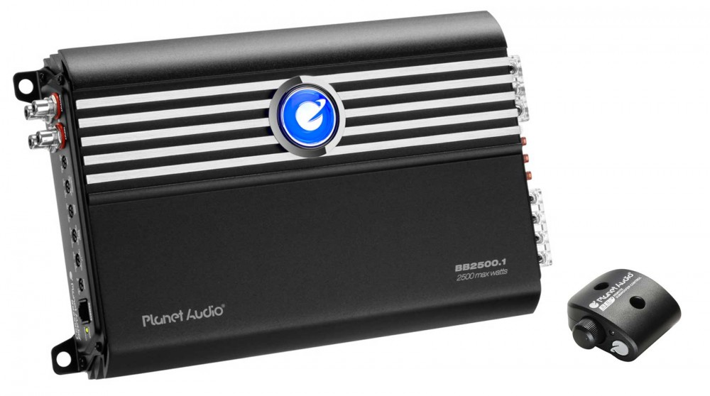 Planet Audio BB2500 1 2500 Watt Mono Amplifier Class-D Car