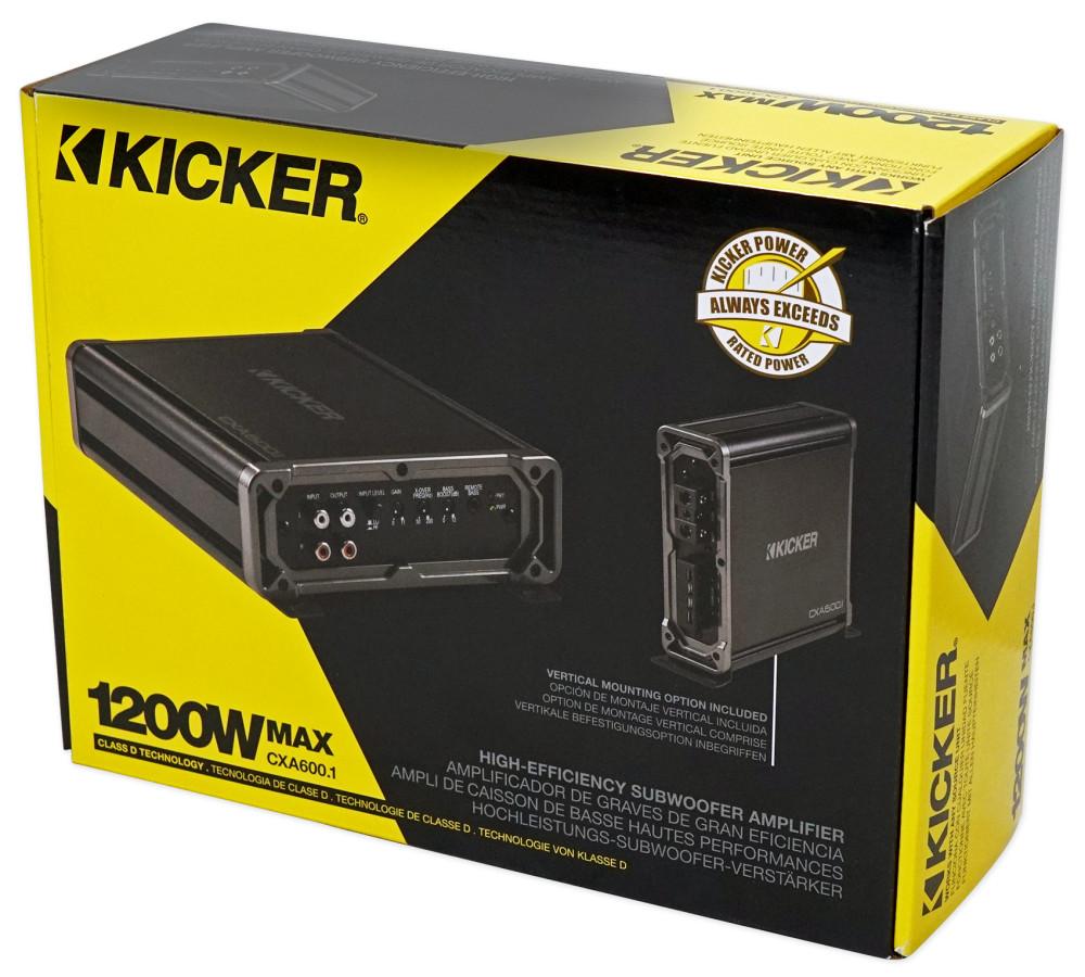 600 Watt Rms Monoblock Amp