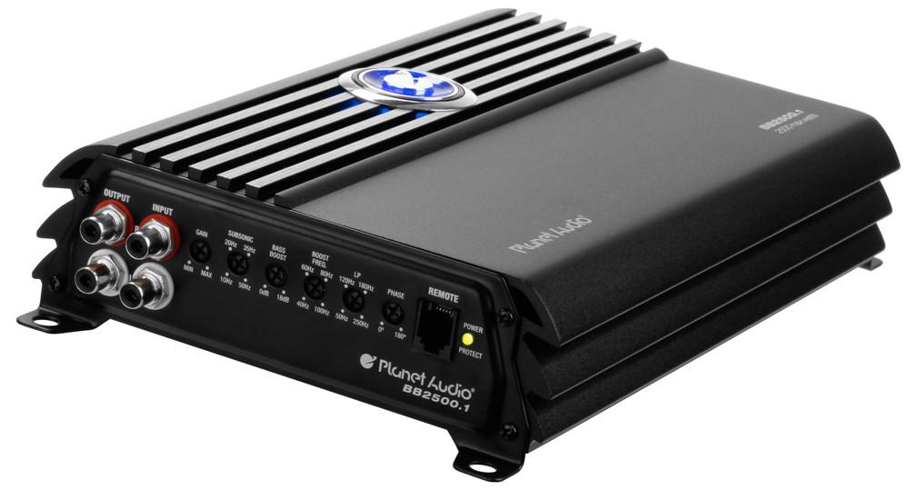 Planet Audio BB2500 1 2500 Watt Mono Amplifier Class-D Car
