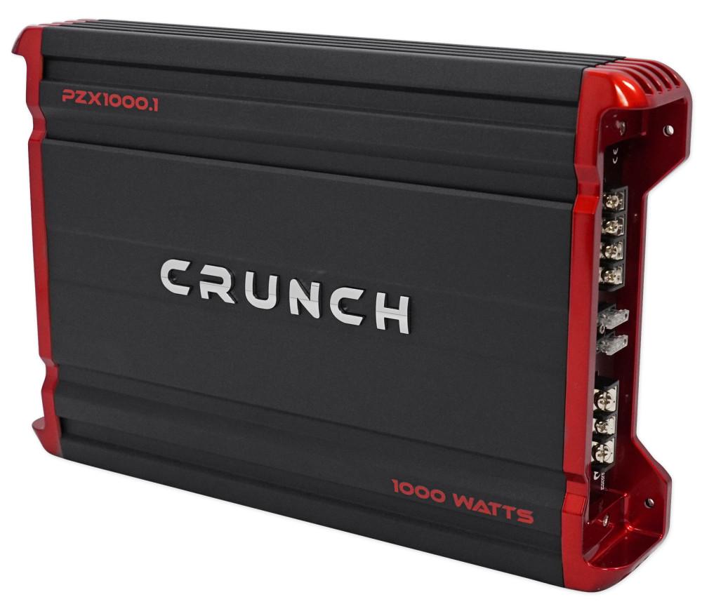 crunch pzx1000 1 1000 watt mono class a  b car audio amplifier amp wire kit audio savings 1000 Watt Amplifier Wiring Kit Volkswagen Complete Wiring Kit