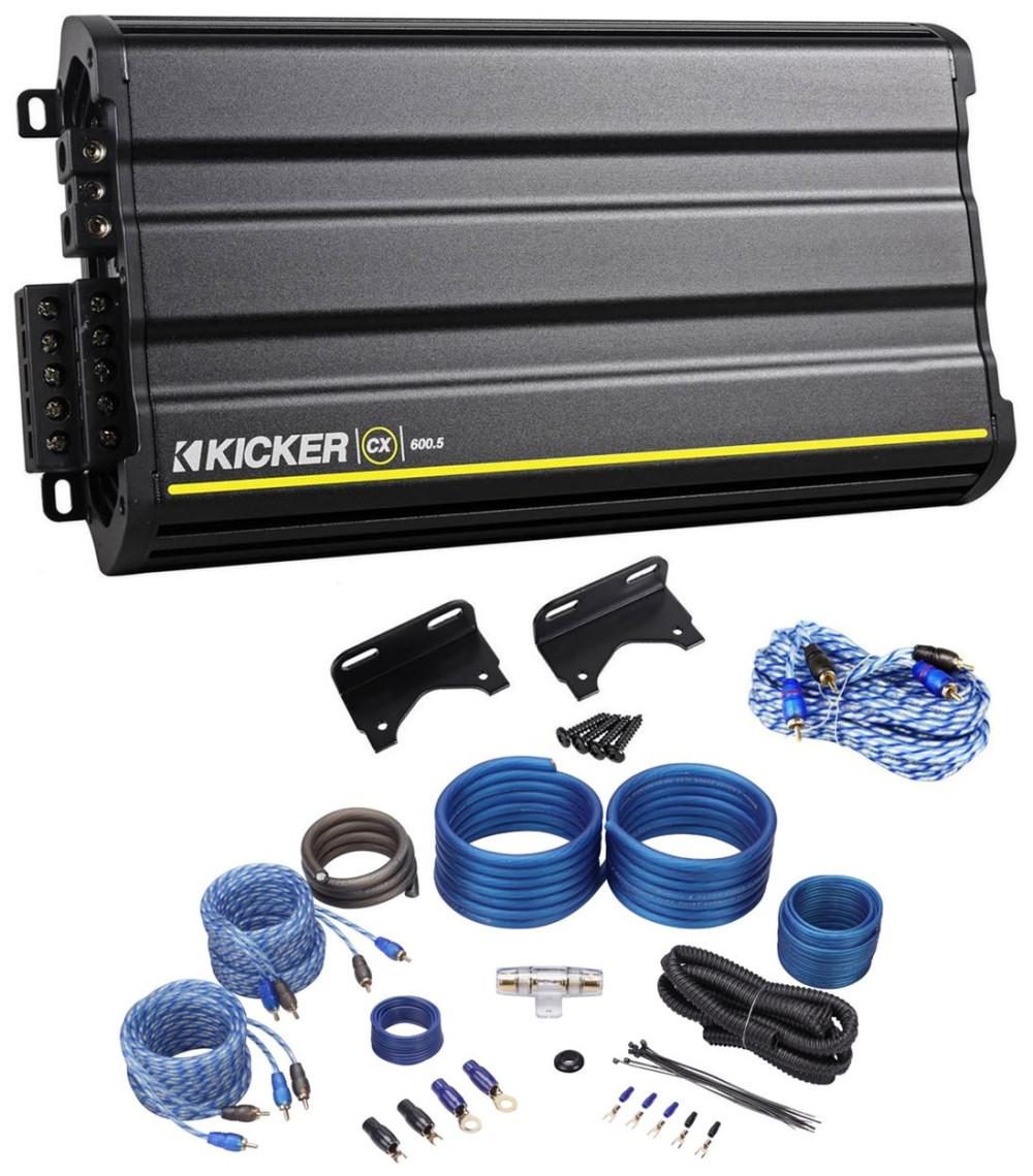 Kicker Amplifier Wiring Diagram