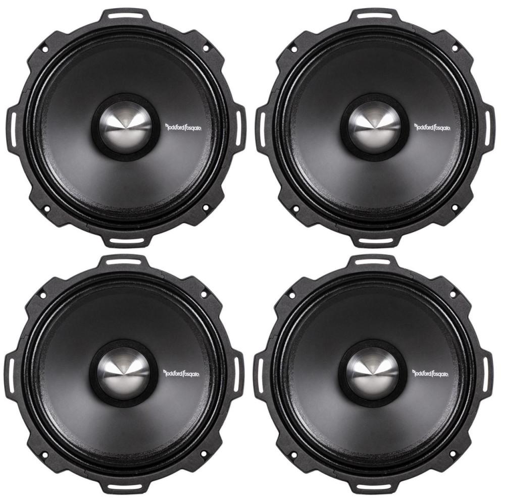 "Rockford Fosgate PPS4-8 Punch Pro 8/"" 4-Ohm Midrange//Midbass Speaker"