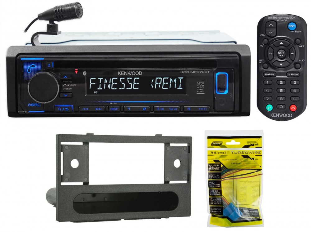 Kenwood Cd Receiver W  Bluetooth Iphone  Android For 1999
