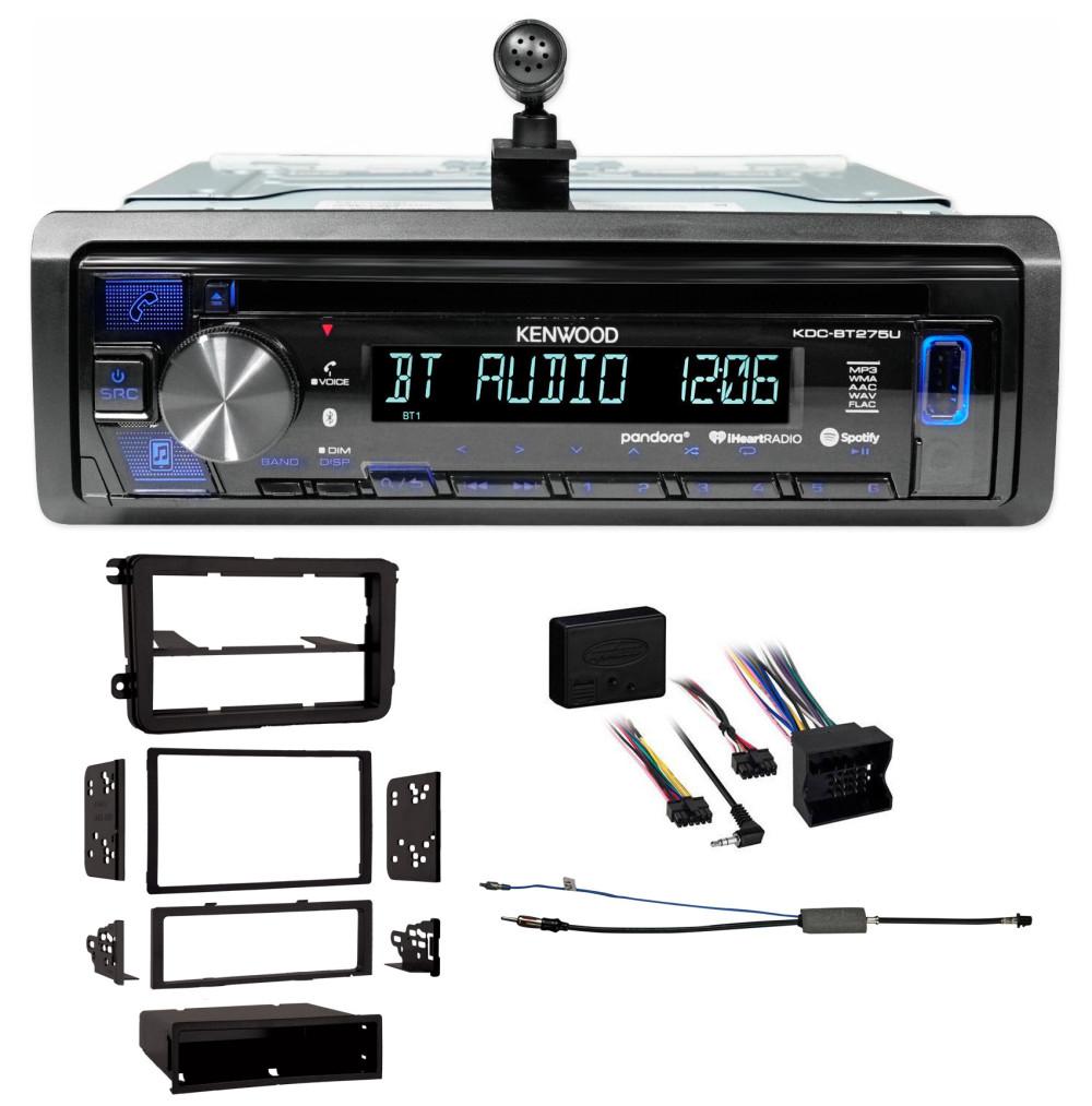 Vw Car Stereo Radio Kit Dash Installation Mounting Trim W
