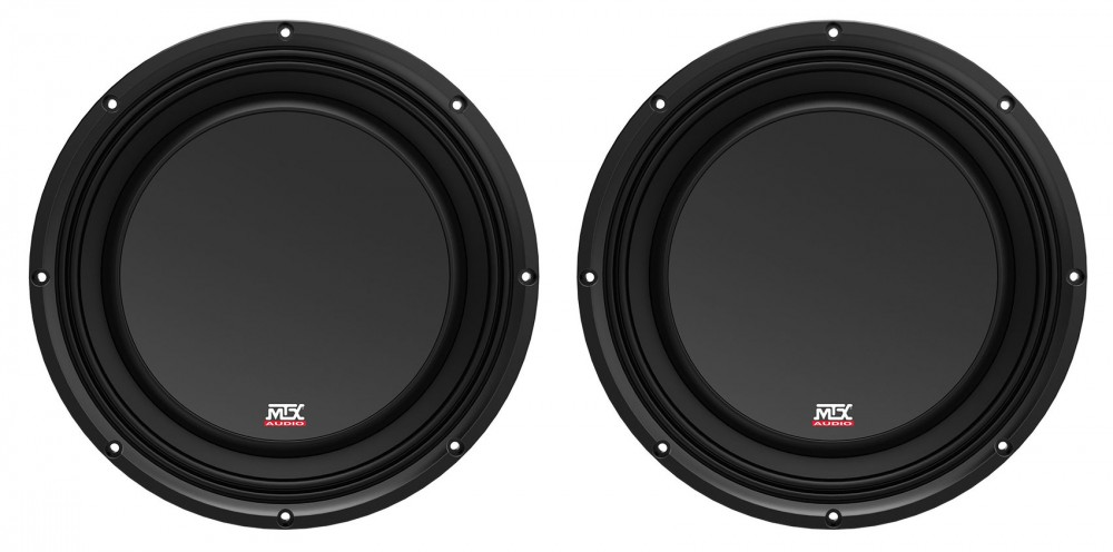 """MTX 3510-04S 10/"""" SHALLOW SLIM SUBOOWFER 4 OHM 300 WATTS RMS FREE SHIPPPING NEW"""