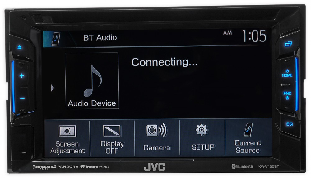 2002 2005 Volkswagen Gti Jvc Dvd Player Monitor W Bluetooth Usb Iphone Android on sirius antenna outside