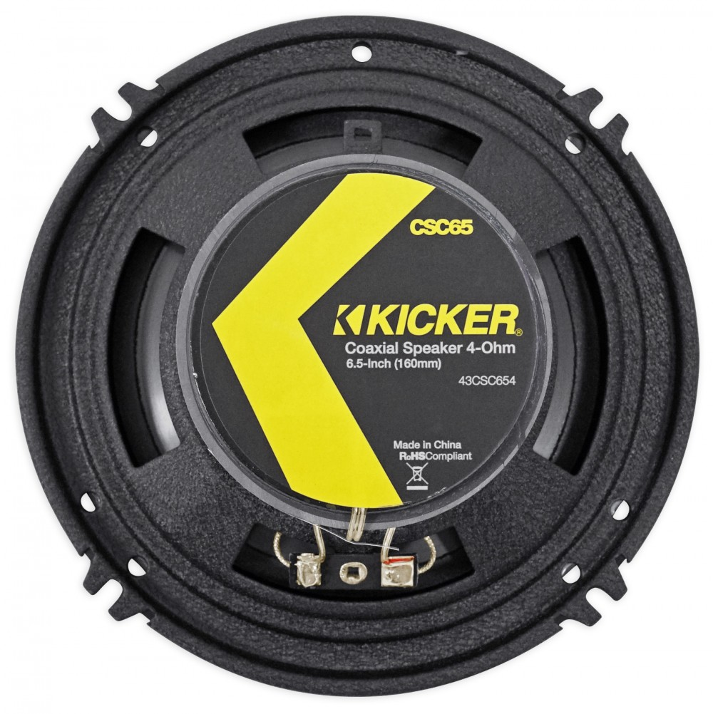 "Kicker CS 6.5/"" Front+Rear Factory Speaker Replacement For 2007-2011 Nissan Versa"