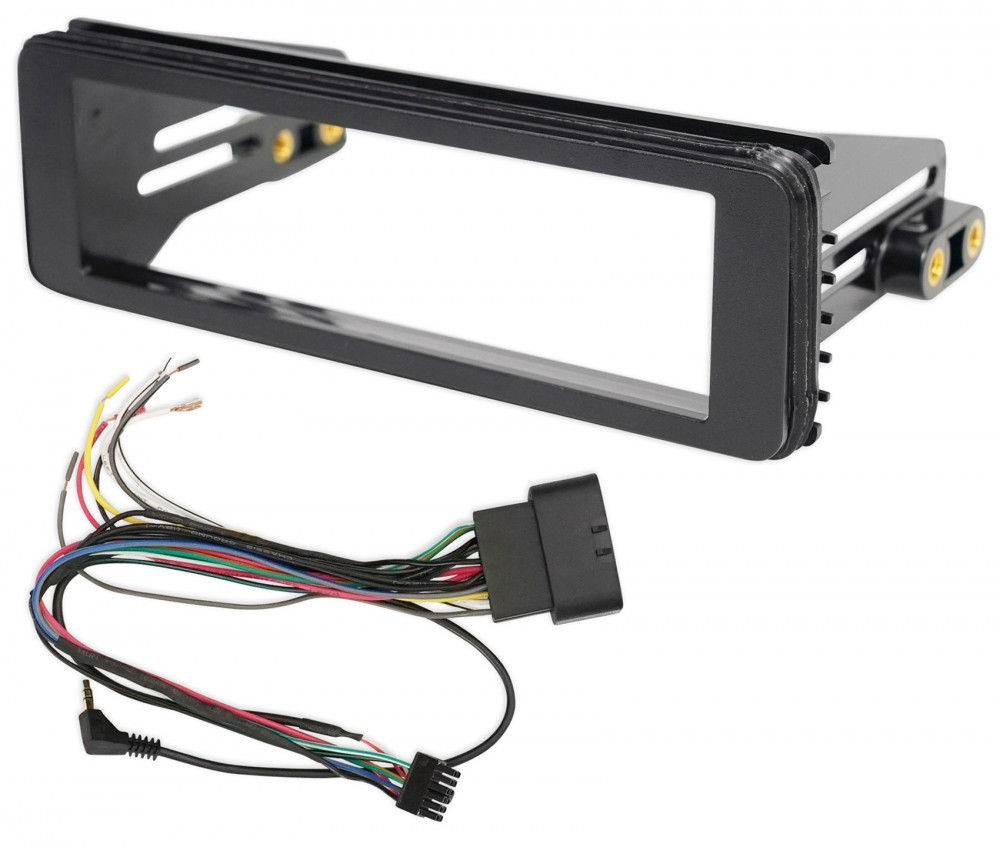 METRA 99-9600 1998-2013 Harley Davidson Touring 1-Din Stereo ... on harley davidson wiring color code, motorcycle wiring harness, harley wiring diagram for dummies, mercury wiring harness, harley davidson wiring connectors, cobra wiring harness, harley chopper wiring harness, piaggio wiring harness, harley shovelhead wiring harness, harley davidson trailer wiring diagram, columbia wiring harness, harley softail wiring harness, royal enfield wiring harness, harley davidson speaker wiring, harley wiring harness diagram, harley davidson stereo wiring diagram, harley sportster wiring harness, harley wiring harness kits, harley davidson stator wiring, mitsubishi wiring harness,
