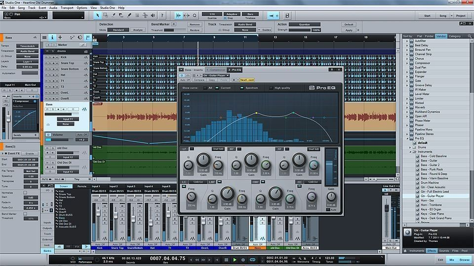 PreSonus Studio One Producer 2 0 Software MP3 Import/Export