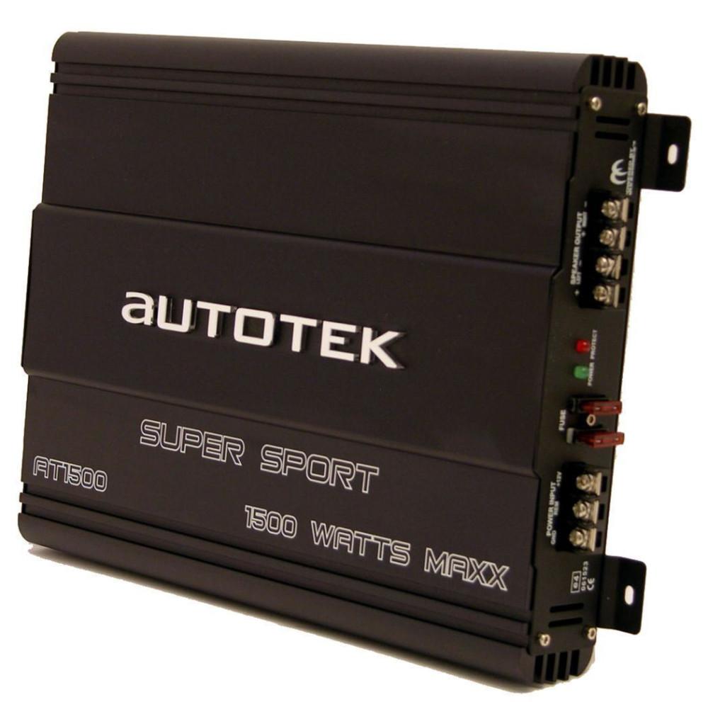 Autotek AT-1500 1500 Watt Peak 2 Channel Car Amplifier Amp