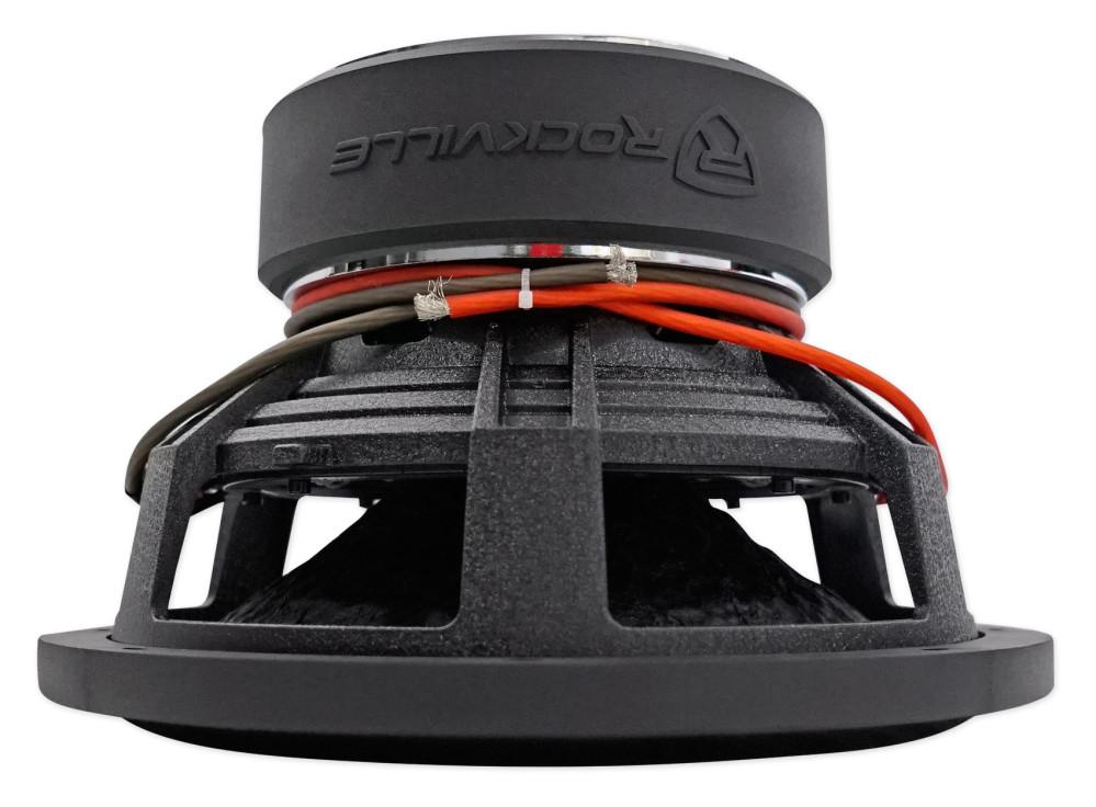 """Rockville W12K9D4 12/"""" 4000w Car Audio Subwoofer Dual 4-Ohm Sub CEA Compliant"""