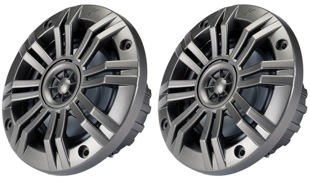 """Kicker 41KM652C 6-1//2/"""" KM-Series 195W Peak//65W RMS 2 Ohm Marine Speakers KM652C"""