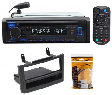 SCOSCHE NN1648B 2000-03 Nissan Maxima Double DIN or DIN w//Pocket Install Dash Kit