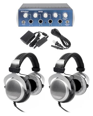 (2) Beyerdynamic DT 880 Premium 600 Ohm Headphones+ ... on