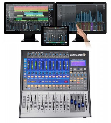 PRESONUS Studiolive SL-1602 USB 16 0 2 16-Channel Digital