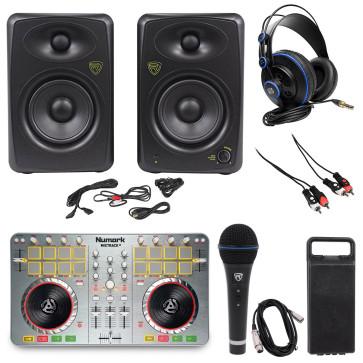 New! Numark MixTrack II Controller w/Serato Dj+2) Studio