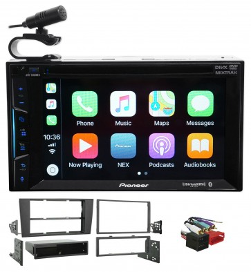 2000-2001 Audi A4/S4 Pioneer Bluetooth DVD Receiver iPhone/Android